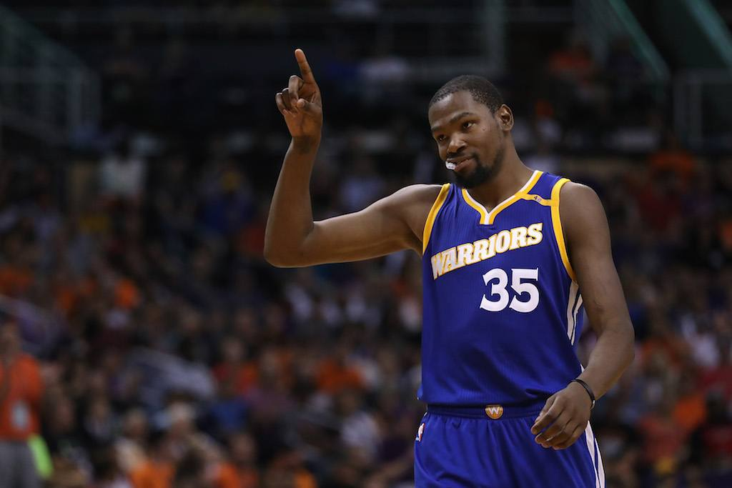 Kevin Durant and the Warriors are an offensive juggernaut | Christian Petersen/Getty Images