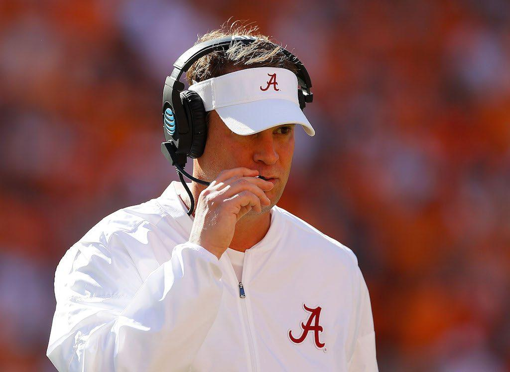 Lane Kiffin is a top head-coaching candidate | Kevin C. Cox/Getty Images