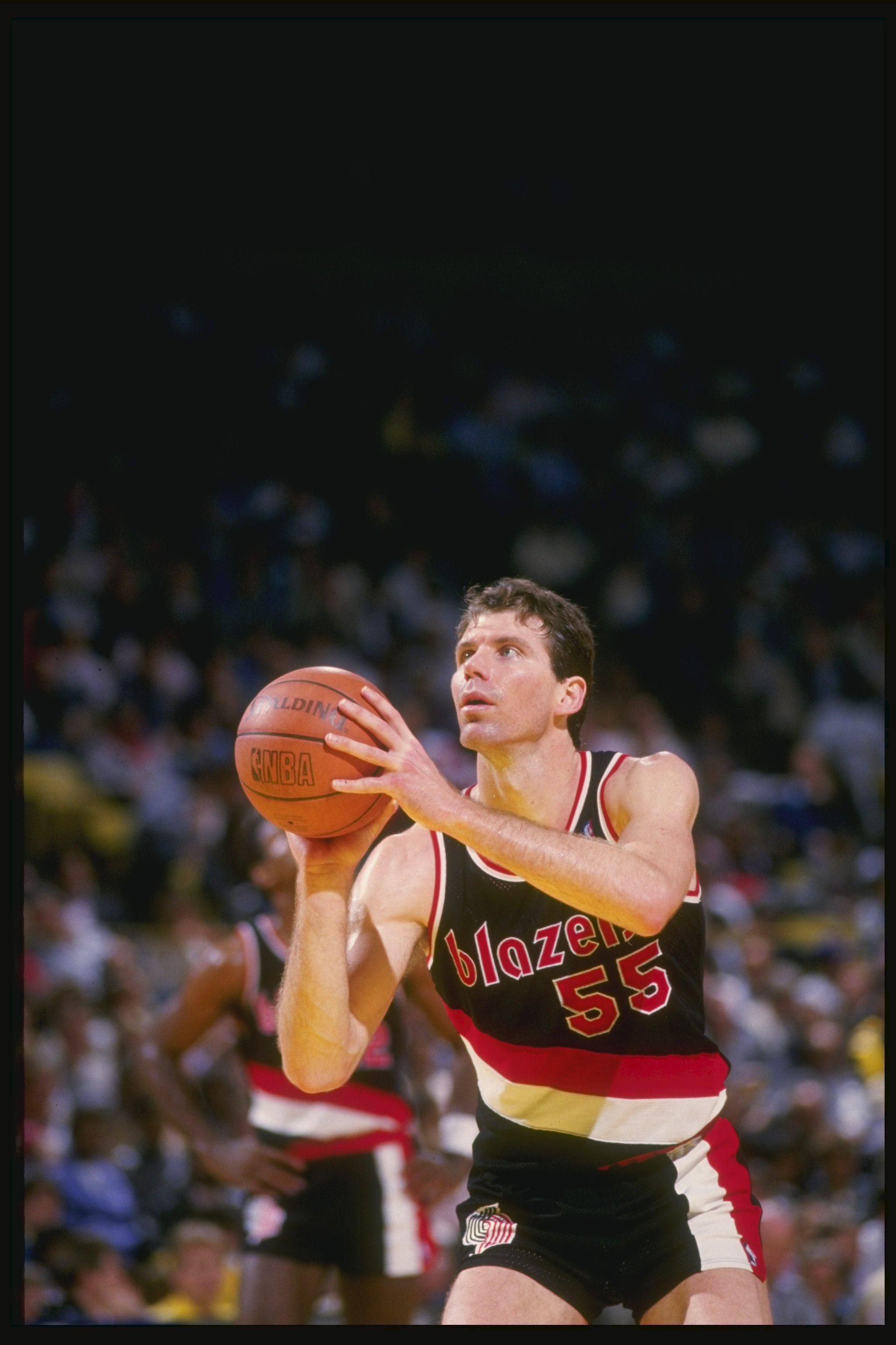 Kiki Vandeweghe of the Portland Trailblazers