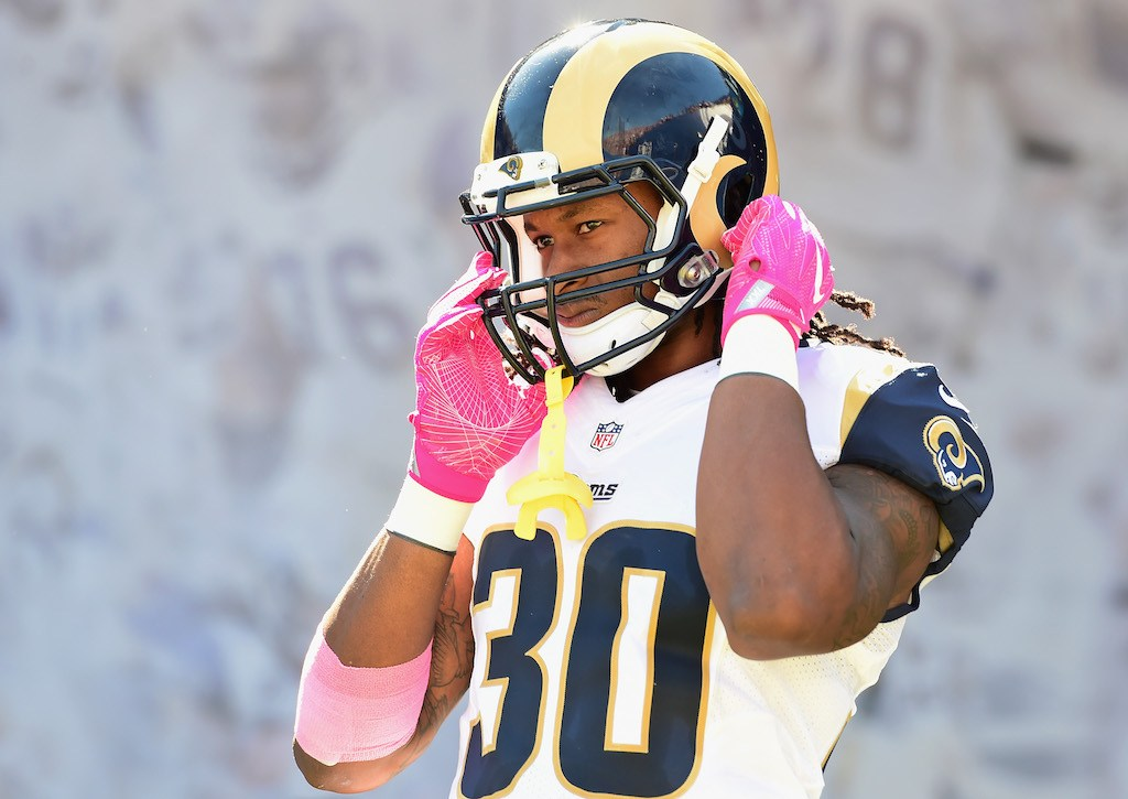 This year has been tough on Todd Gurley | Harry How/Getty Images