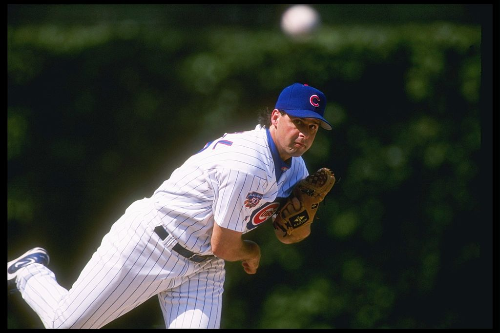 Pitcher Turk Wendell of the Chicago Cubs