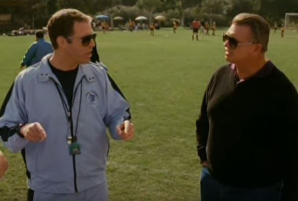 Will Farrell and Mike Ditka in Kicking and Screaming.