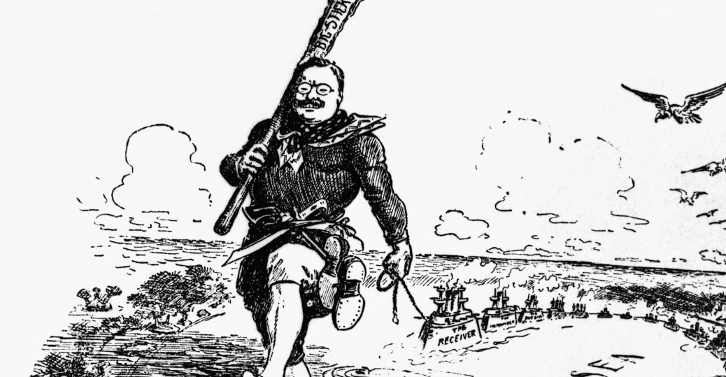 Teddy Roosevelt cartoon