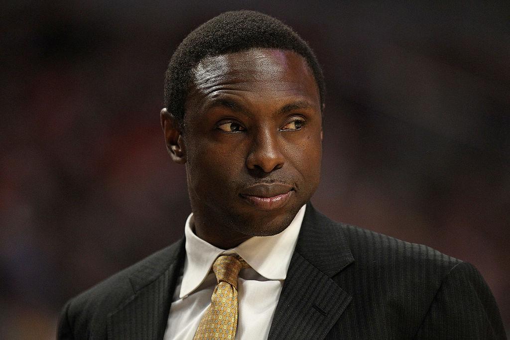 Head coach Avery Johnson of the New Jersey Nets
