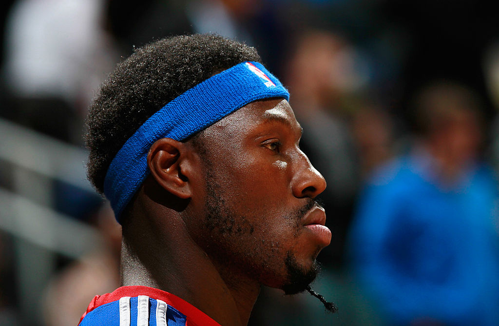 Ben Wallace #6 of the Detroit Pistons