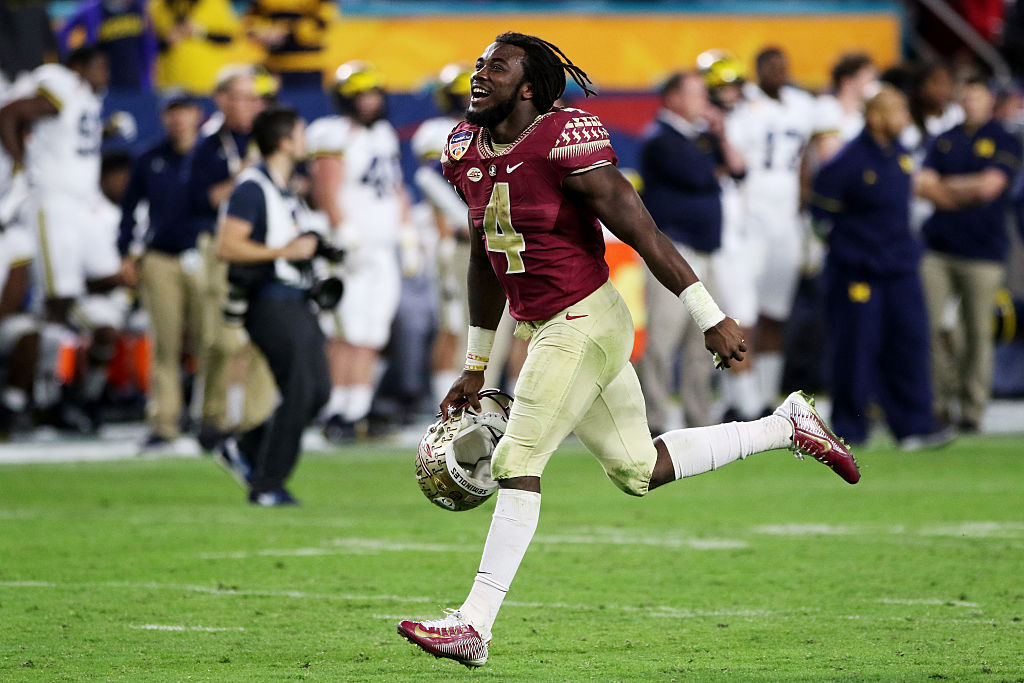 MVP Dalvin Cook #4 of the Florida State Seminoles