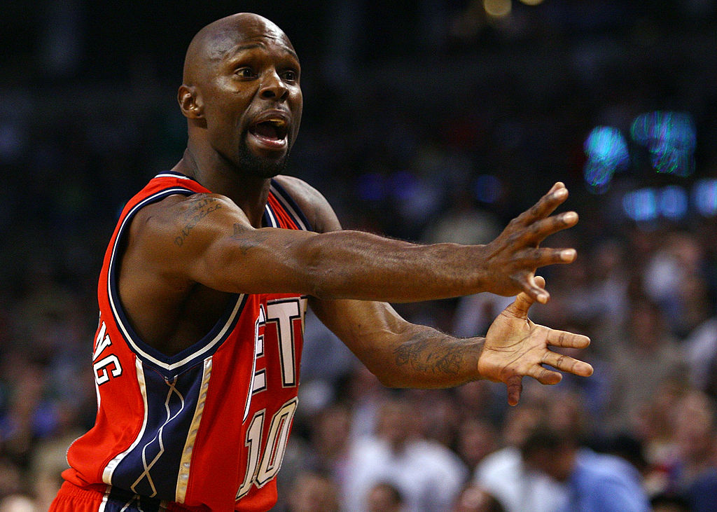Darrell Armstrong #10 of the New Jersey Nets