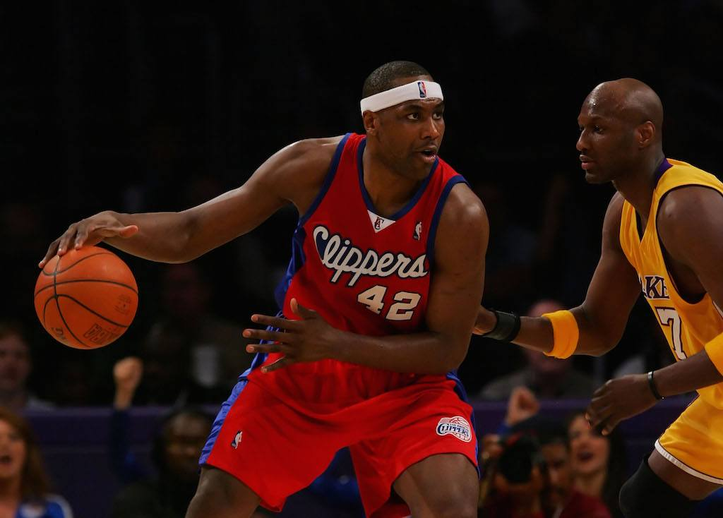 Elton Brand (L) had himself a nice career | Lisa Blumenfeld/Getty Images