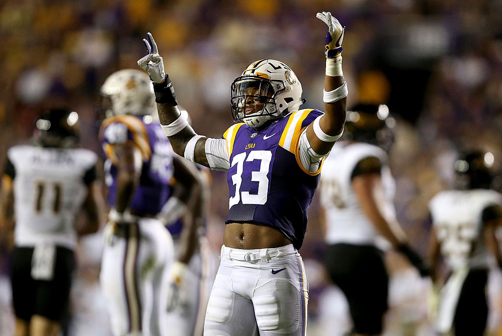 Jamal Adams #33 of the LSU Tigers