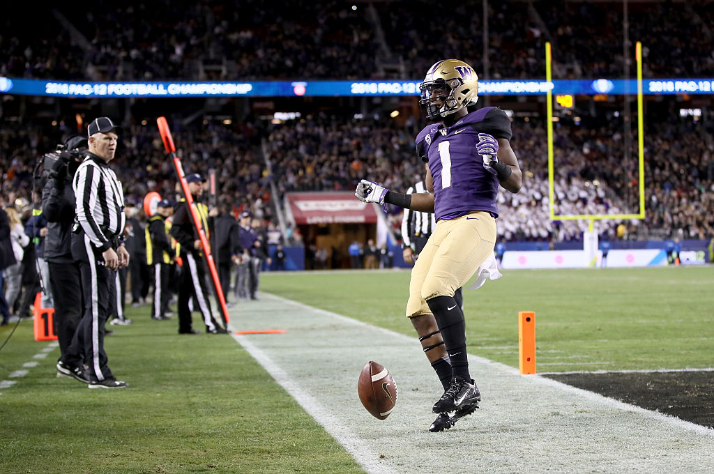John Ross of the Washington Huskies