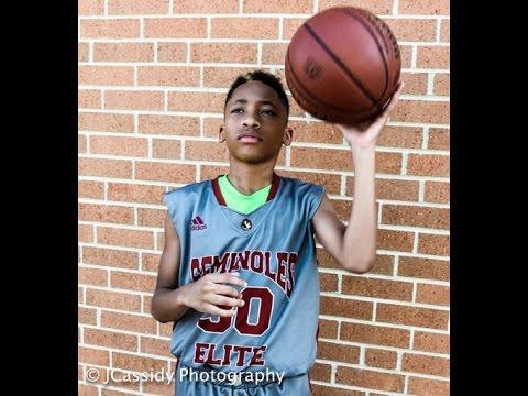 Allen Iverson's son Jordan Lowery   Source: YouTube.com