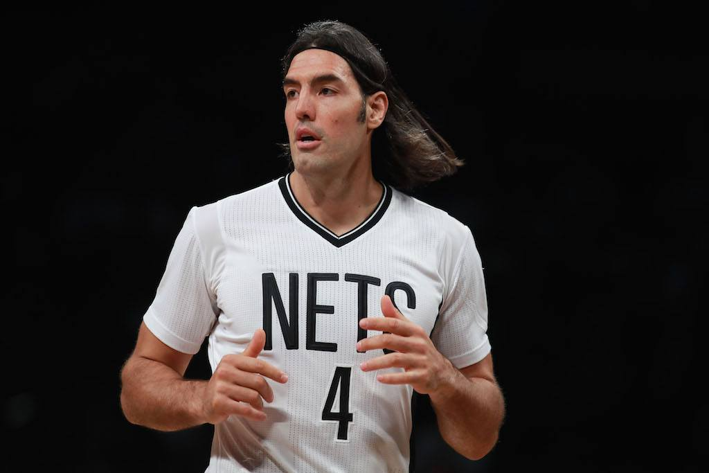 Luis Scola of the Brooklyn Nets.