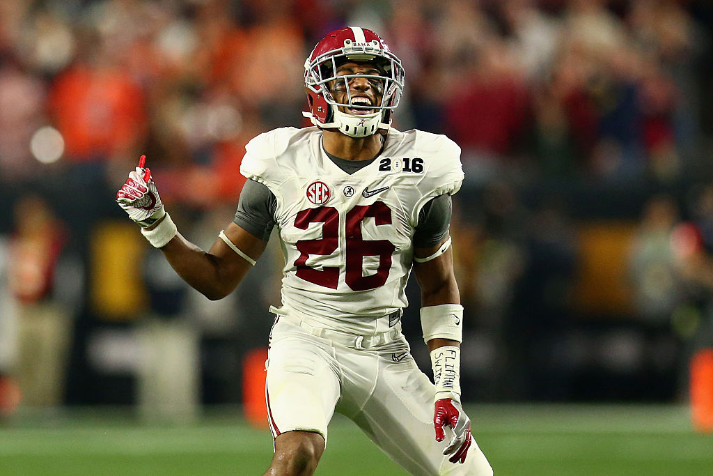 Marlon Humphrey of the Alabama Crimson Tide