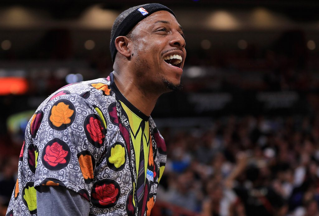 Classic Paul Pierce | Mike Ehrmann/Getty Images