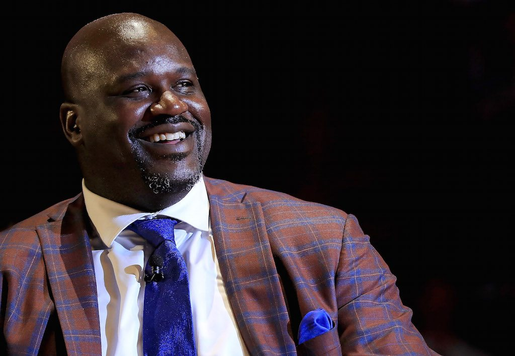 Shaquille O'Neal cashed in during his playing days