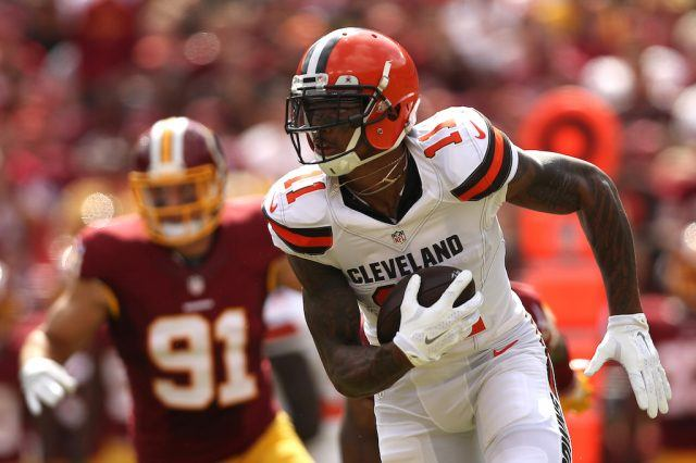 Terrelle Pryor is a legit wide receiver | Patrick Smith/Getty Images