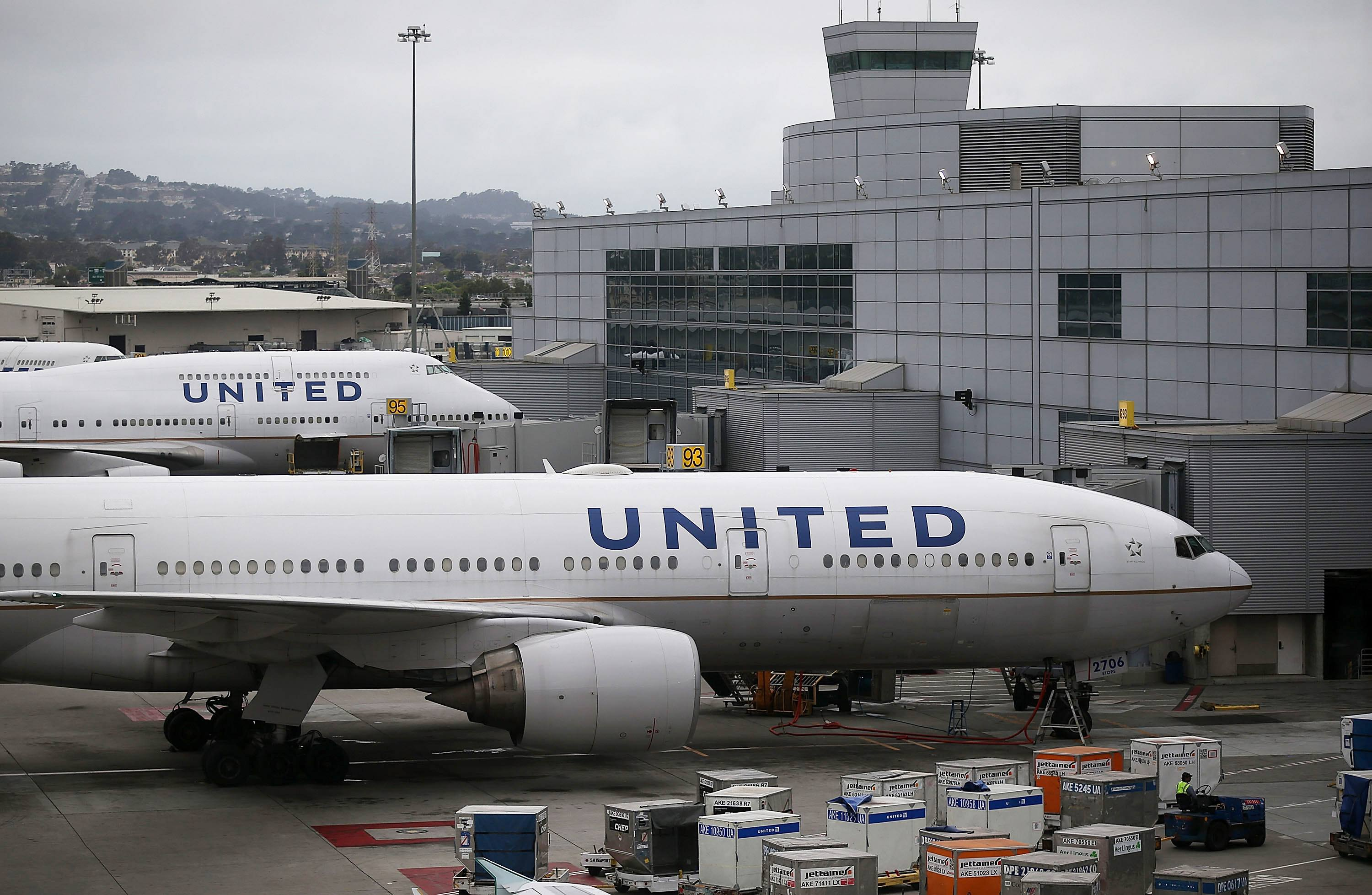 United Airlines_Justin Sullivan_Getty Images