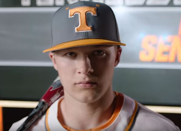 A head shot of one of MLB's top prospects Nick Senzel