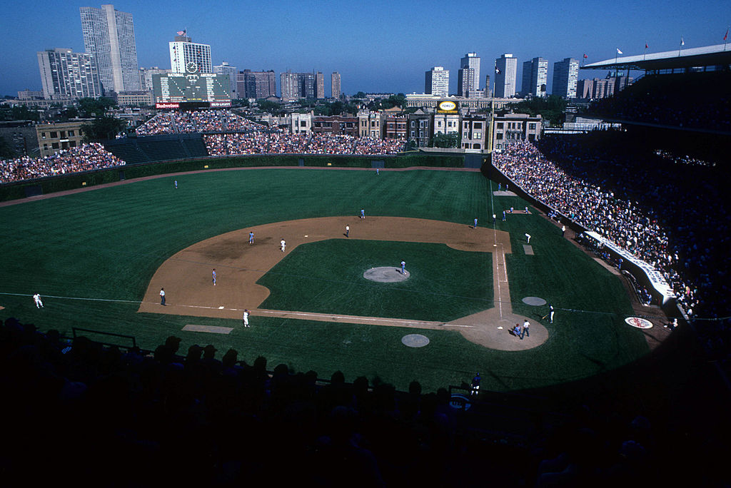 The Chicago Cubs take on the Philadelphia Phillies at Wrigley Field.