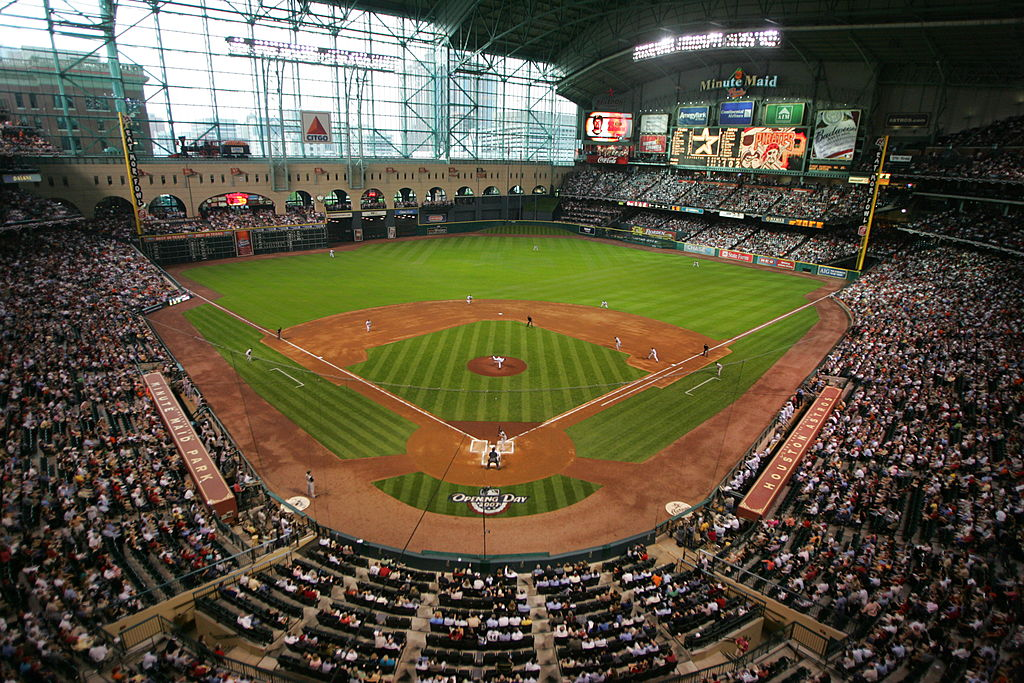 A general view of the opening day game between the Pittsburgh Pirates and the Houston Astros on April 2, 2007 at Minute Maid ParkStephen Dunn/Getty Images