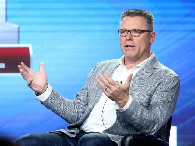 Howie Long commentates for ESpN.