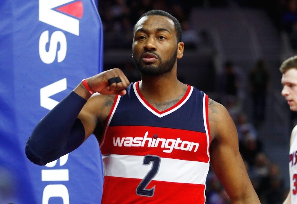 John Wall of the Washington Wizards has been great for so long that he's almost an afterthought.