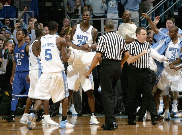 Marvin Williams helps the Tar Heels complete a major comeback.