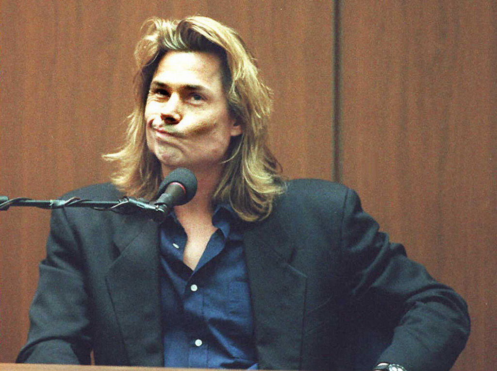 Brian 'Kato' Kaelin testifies in the O.J. Simpson double murder trial.