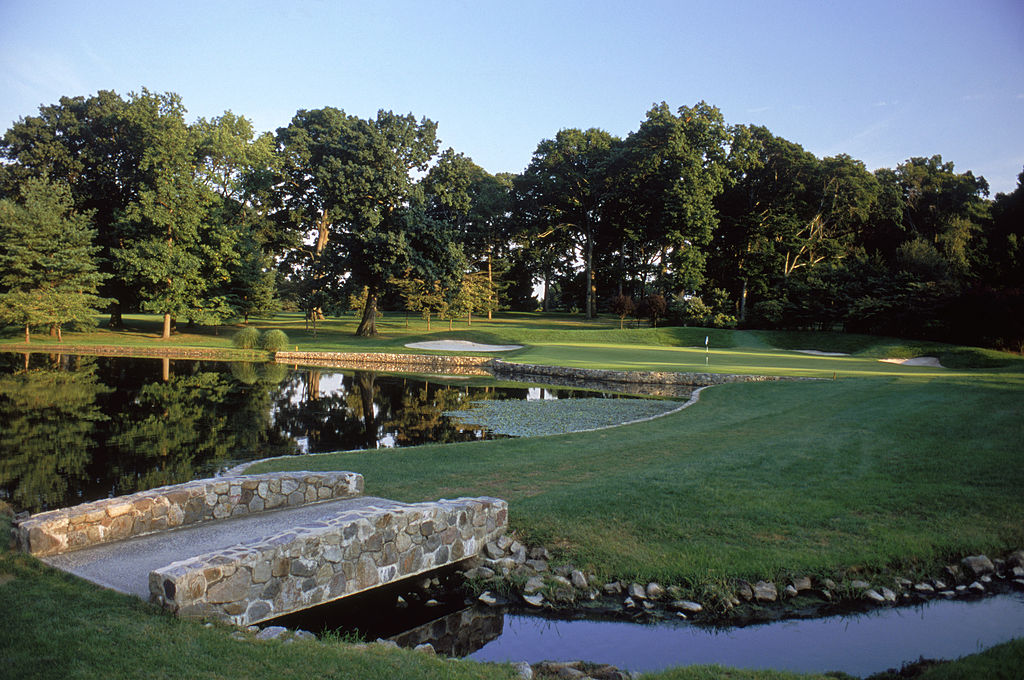 The Baltusrol Golf Club in Springfield, New Jersey