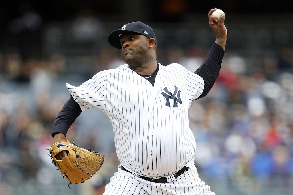 C.C. Sabathia has earned his pinstripes.