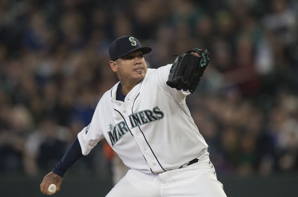 Felix Hernandez gets the royal treatment.