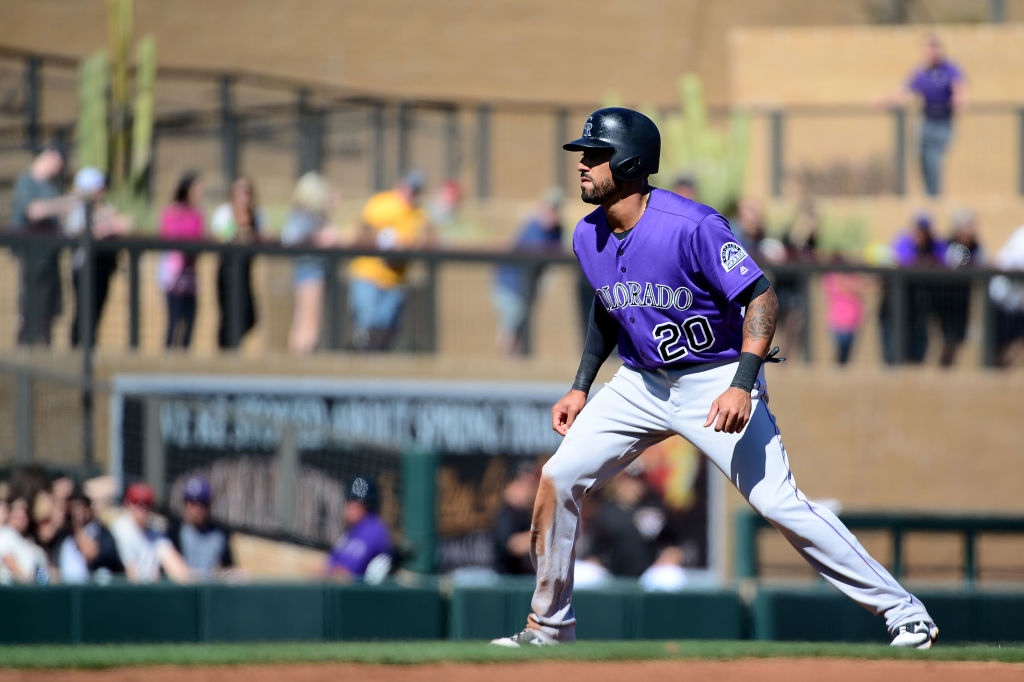 Ian Desmond is already on the DL.