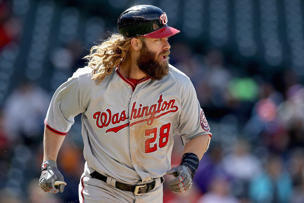 Jayson Werth makes his money in Washington.
