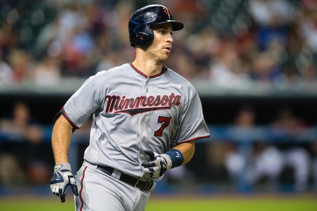 Joe Mauer hits his way into the money.