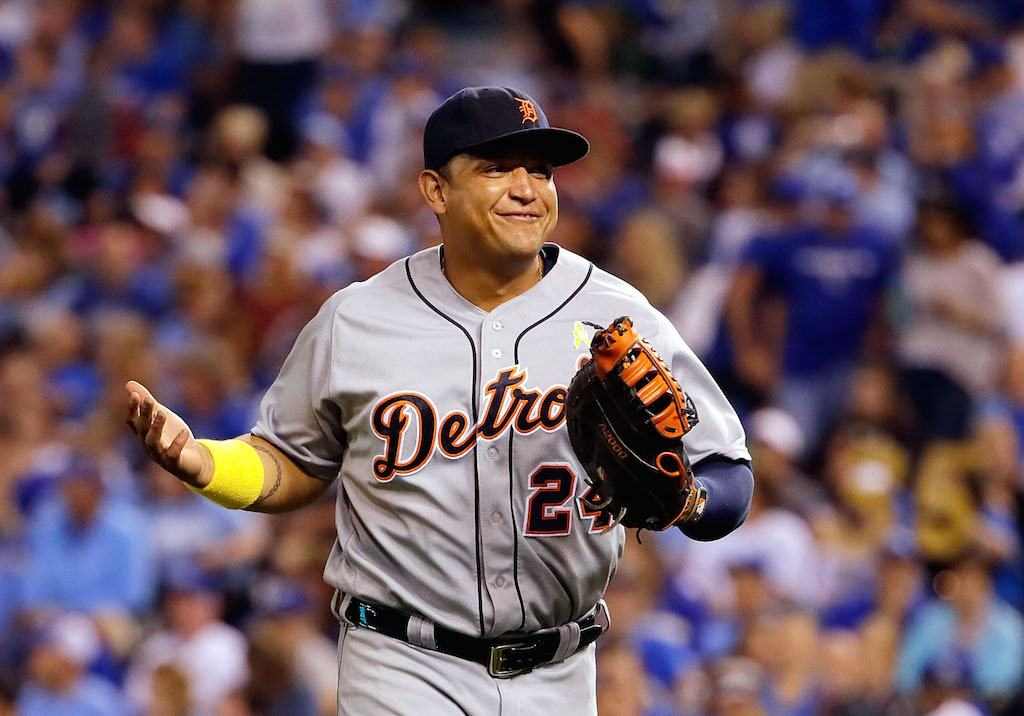 Miguel Cabrera is money.