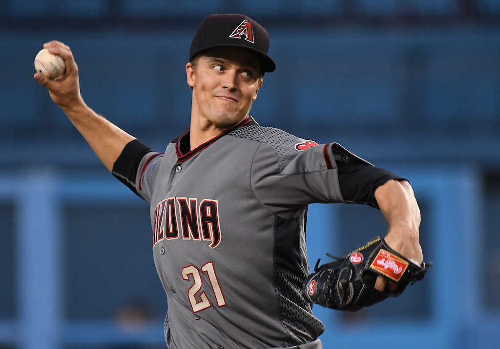 The Diamondbacks made Zack Greinke a very wealthy man.