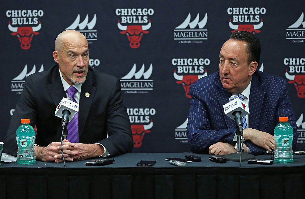 John Paxson and Gar Forman making excuses for why they're not good at their jobs.