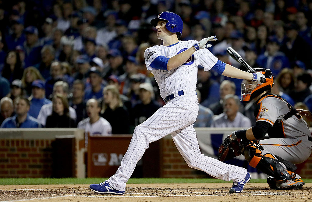 Cubs pitcher Kyle Hendricks struck out to end an 18-inning marathon with the New York Yankees.