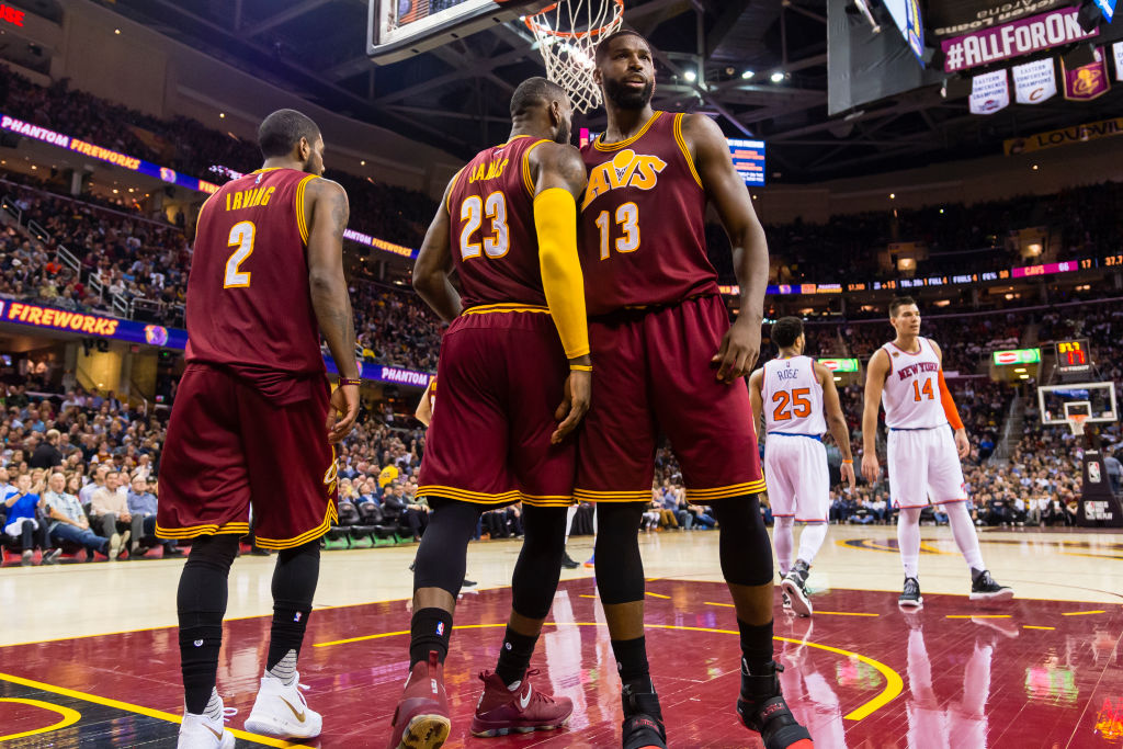 LeBron James, Kyrie Irving, and Tristan Thompson are a huge part of Cleveland's success.