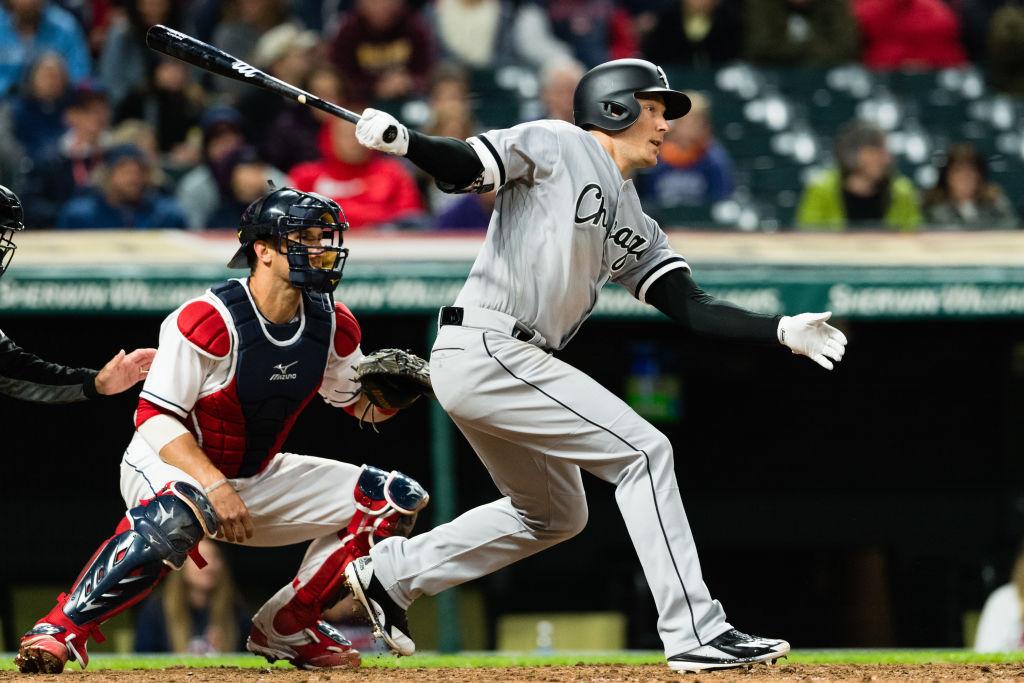 Cody Asche actually hits a baseball.