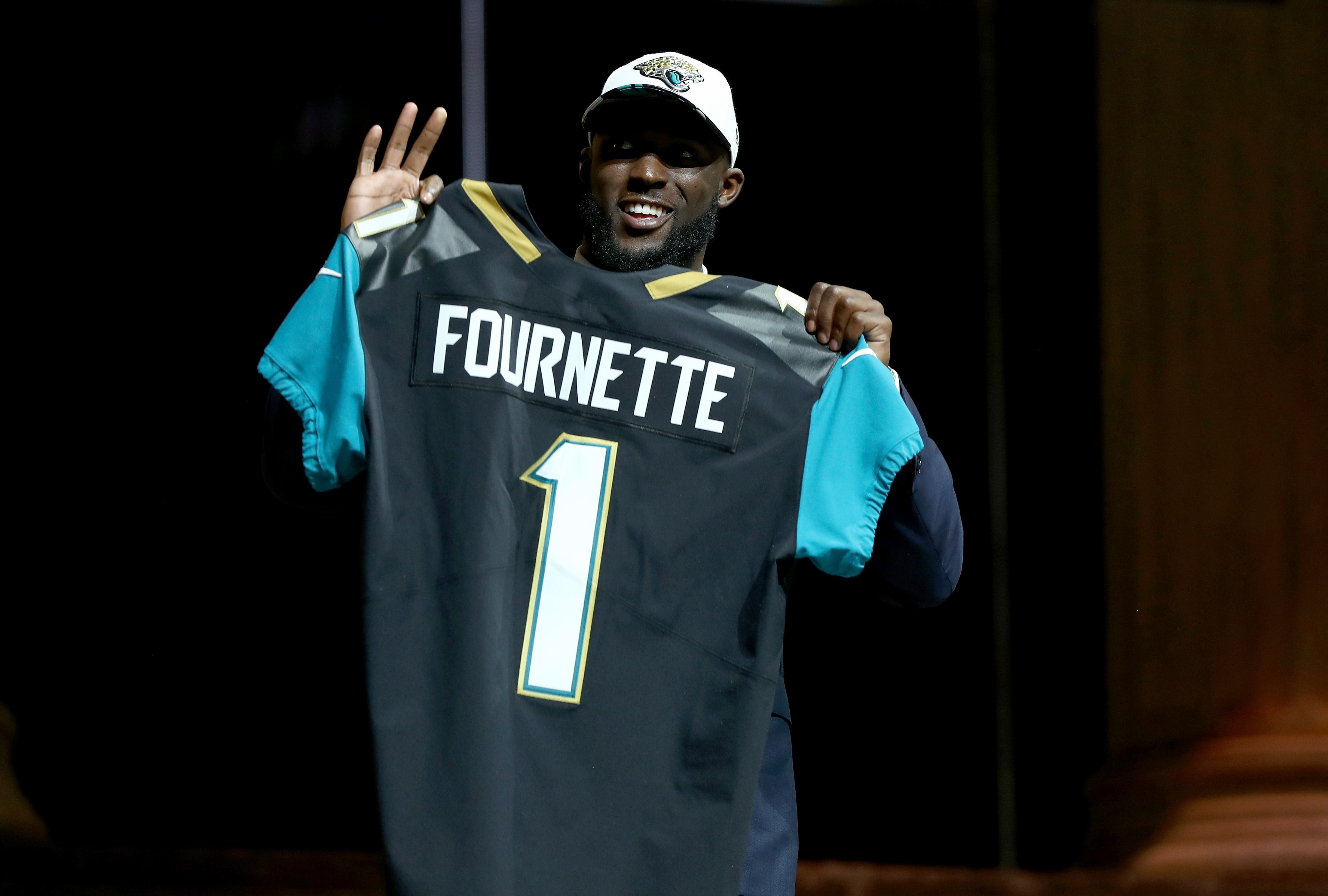 Leonard Fournette is excited about his future in the NFL.