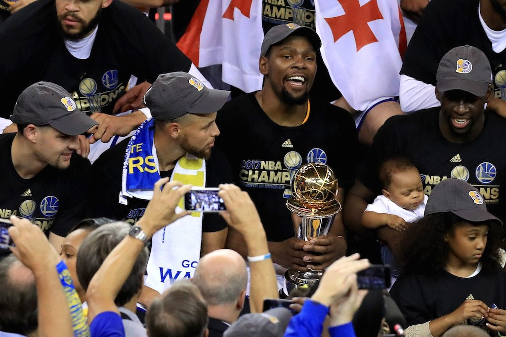 The Golden State Warriors are champions again.