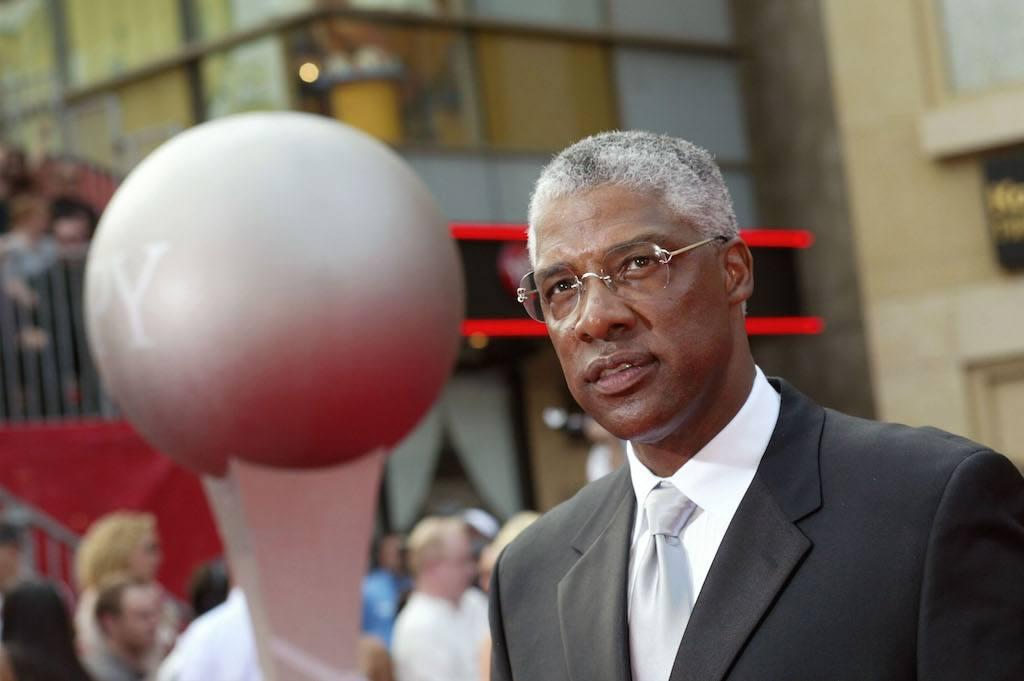 Julius Erving attends the 2003 ESPY Awards.