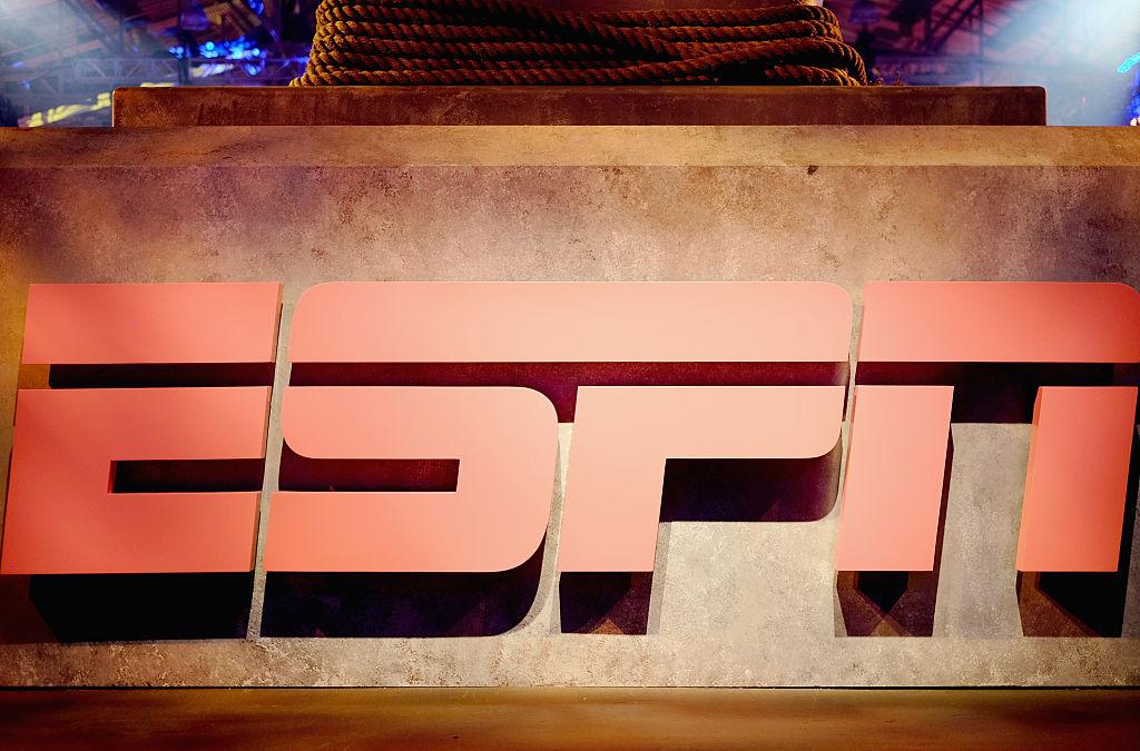 An ESPN at their headquarters