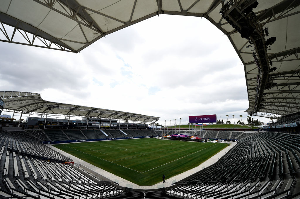 A quiet day at the StubHub Center