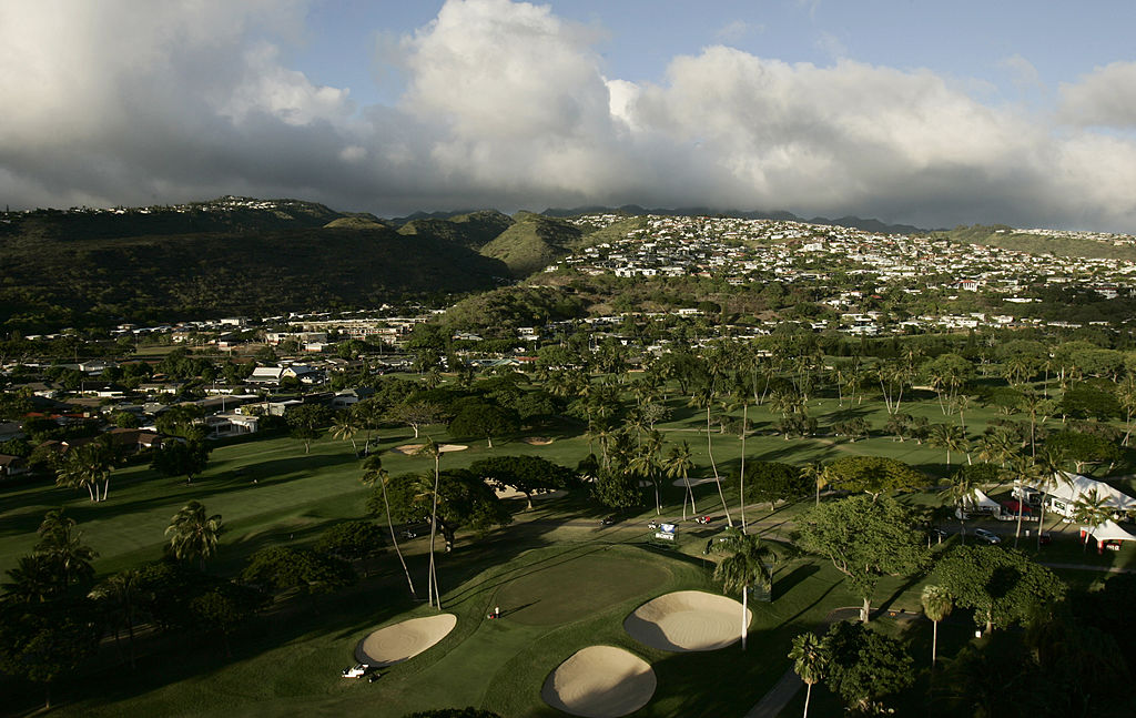 Honolulu hosts the Sony Open at Waialae Country Club.