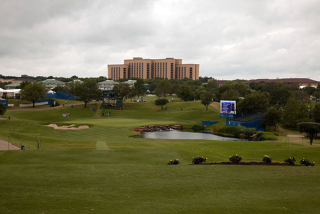 Irving, Texas hosts the HP Byron Nelson Championship at TPC Four Seasons Resort.