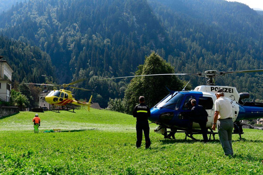 Switzerland Landslide