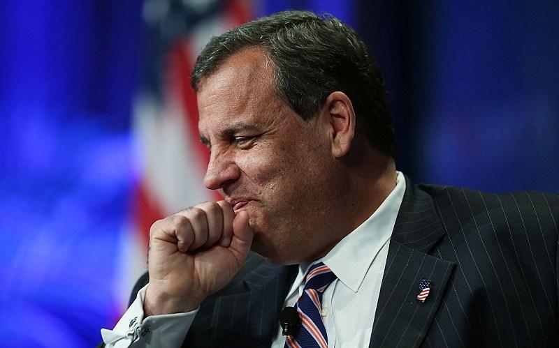 New Jersey Governor Chris Christie speaks during Rick Scott's Economic Growth Summit.