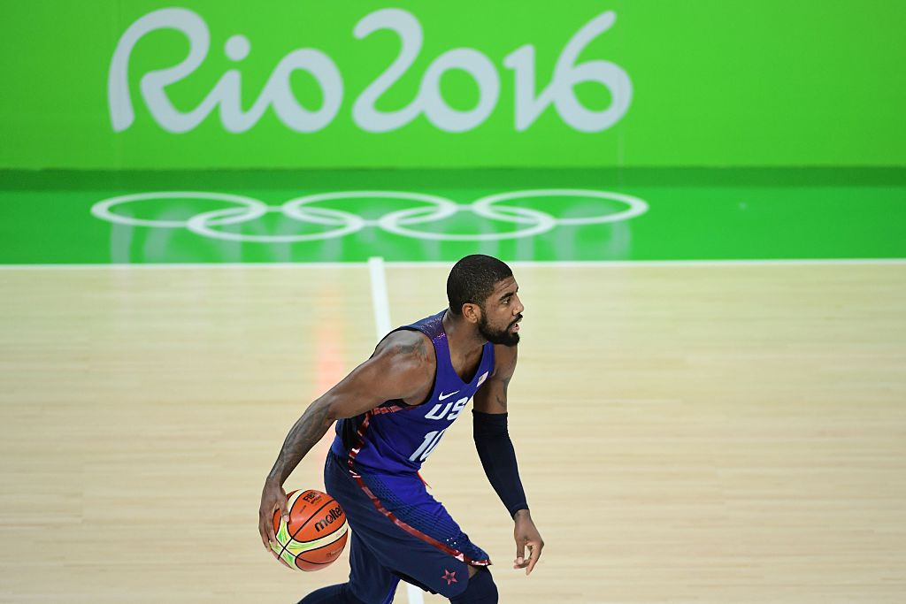 Kyrie Irving at the Olympics
